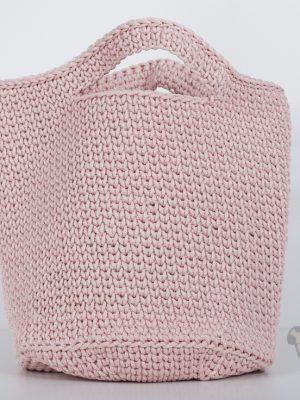 """Pugas.lt """"Rožinis pirkinių krepšelis"""""""