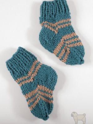 """Pugas.lt """"Vilnonės kūdikio kojinytės"""""""