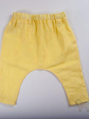 """Pugas.lt """"Geltonos kūdikio kelnės"""""""