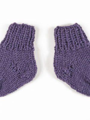 """Pugas.lt """"Violetinės kūdikio kojinės"""""""